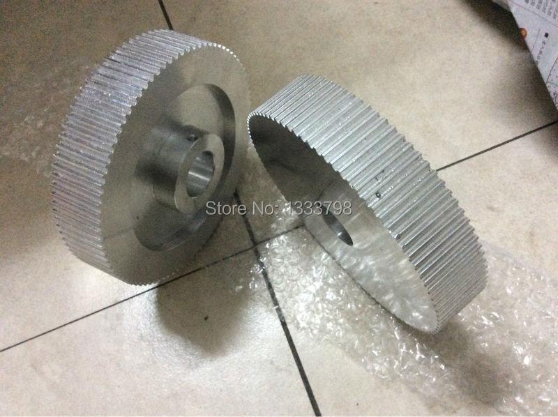 China manufacturing 5M 100Z transmission belt gear/ HTD5M pulley porcelain manufacturing