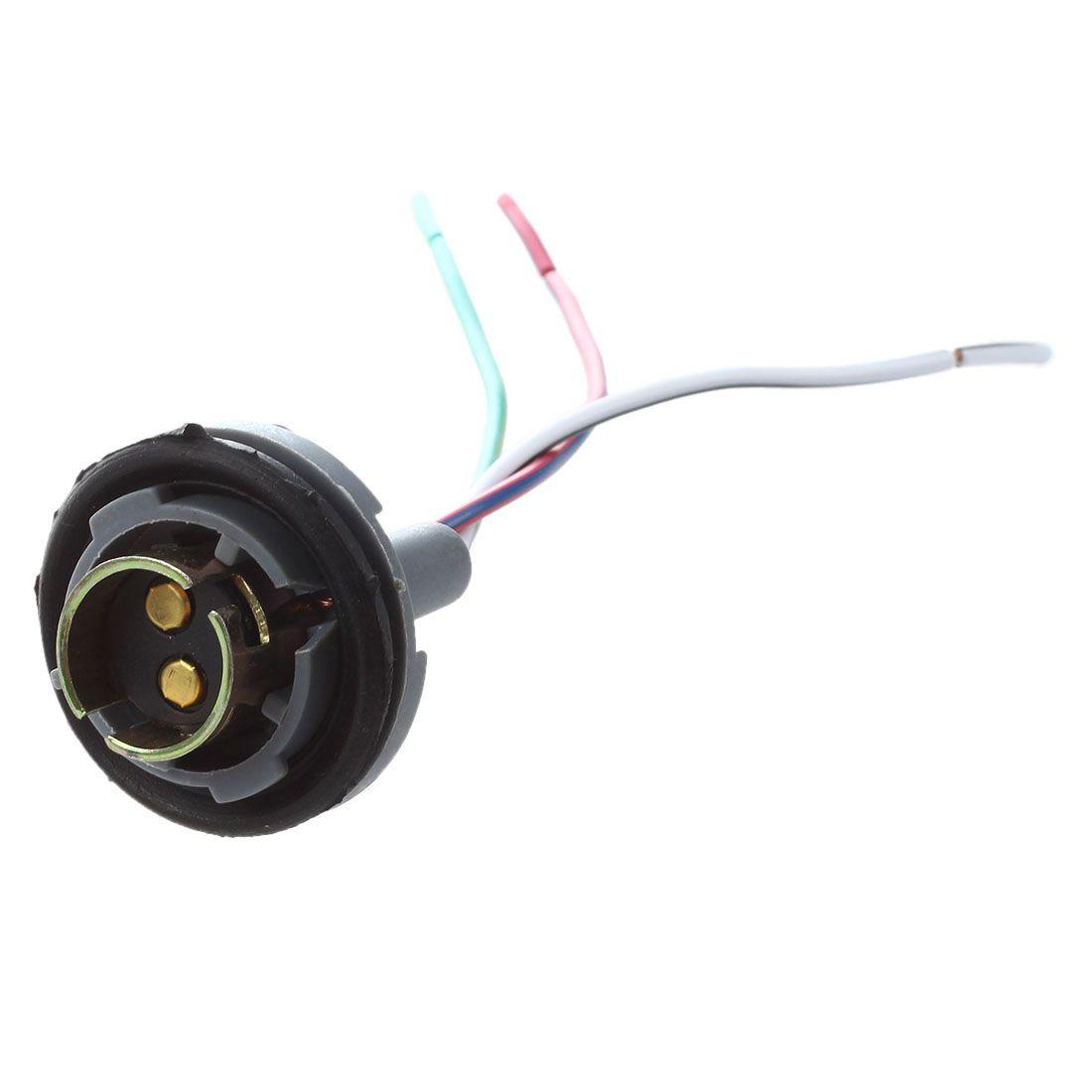 hight resolution of 1157 signal brake light bulb socket connector wire harness plug 2 pcs