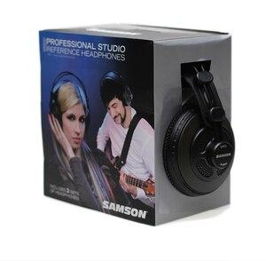 Image 5 - Original Samson SR850 professional monitor Headphone Semi open Studio Headset one pair two pieces package