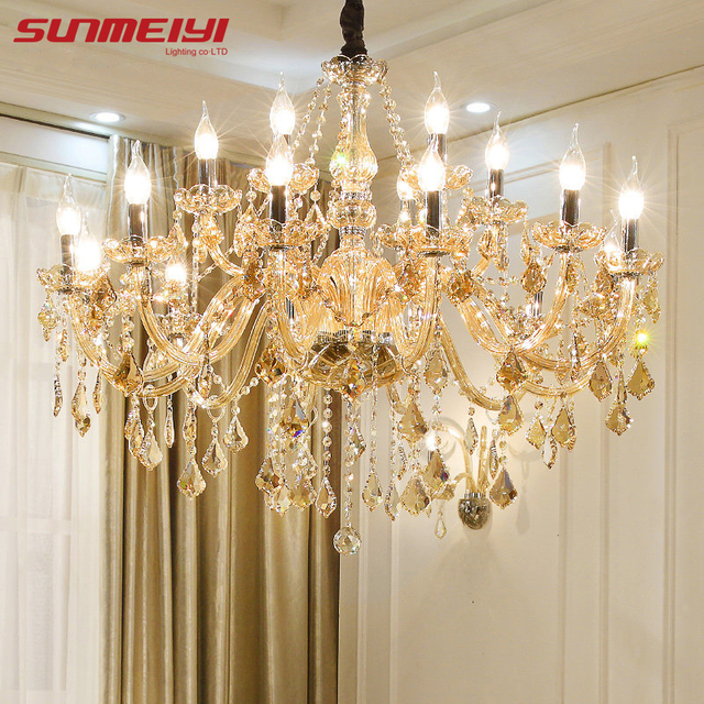 Modern crystal chandeliers home lighting lustres de cristal modern crystal chandeliers home lighting lustres de cristal decoration luxury candle chandelier pendants living room indoor aloadofball Images