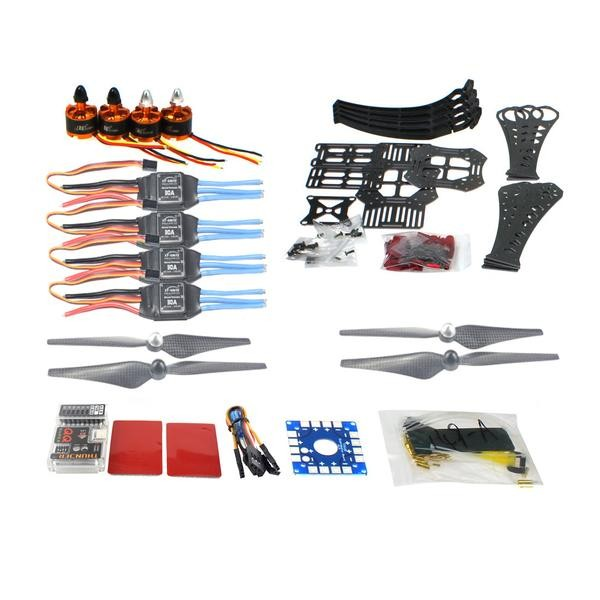 F14892-E DIY RC Drone Quadrocopter X4M360L Frame Kit QQ Super Flight Control diy rc drone quadrocopter arf with gimbal frame kit qq super fs i6 tx f14892 j