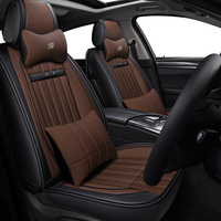 Universal PU Leather car seat covers For Audi A6L R8 Q3 Q5 Q7 S4 RS Quattro A1 A2 A3 A4 A5 A6 A7 A8 auto accessories car sticker