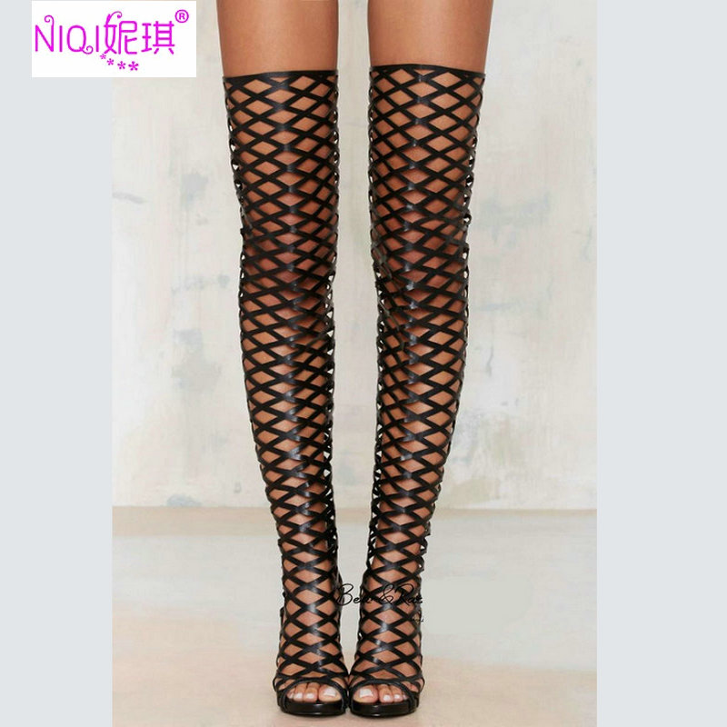 Online Get Cheap Real Leather Thigh High Boots -Aliexpress.com ...