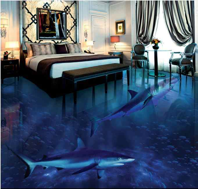 3d Wallpaper For Floors Shark Bottom Photo Wall Floor Wallpaper Pavimento Pvc Wallpaper For Bedroom 3d.jpg q50