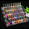 New Acrylic 5 Tiers Nail Polish Display Cosmetic Organizer Nail Polish Rack Lipstick Jewelry Display Makeup
