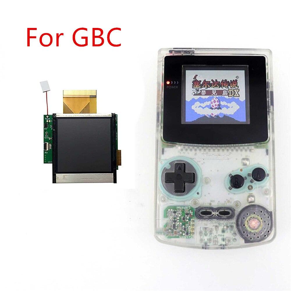 Remplacement pour les accessoires de Kit de Modification d'affichage à cristaux liquides d'écran de lumière élevée de GBC de GBC pour l'écran de luminosité réglable de 5 segments de GBC