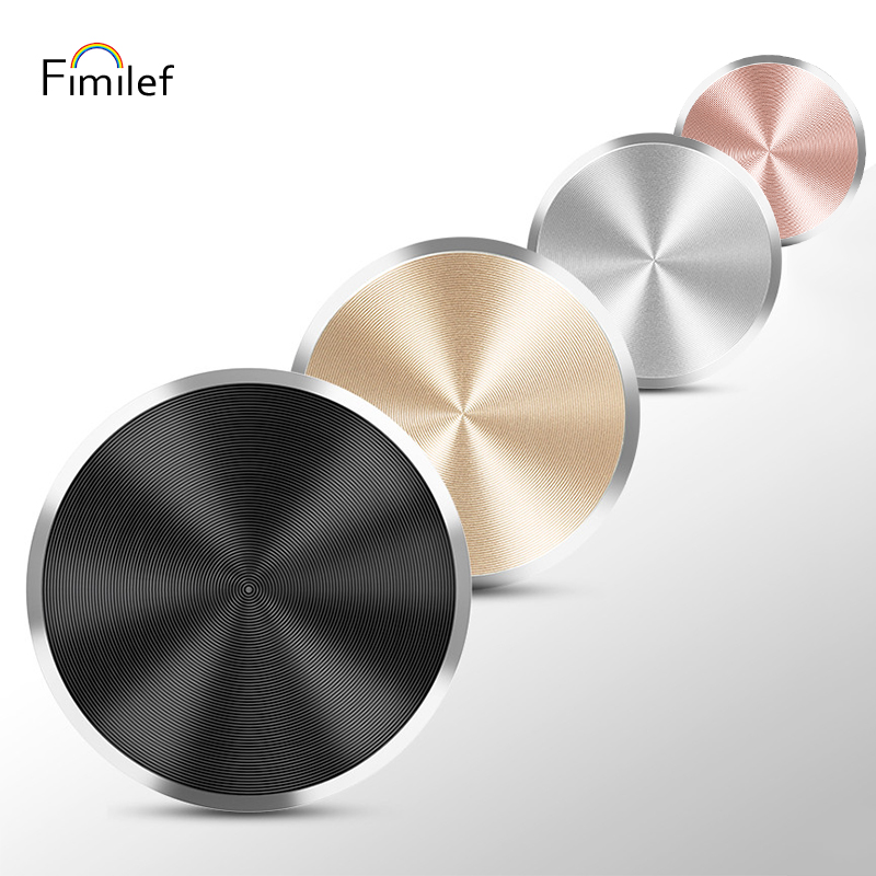 Fimilef CD Lines Plate Iron Sticker For Magnetic Car Phone Holder Universal Metal Plate Mount Magnet Holder Accessory Iron Sheet