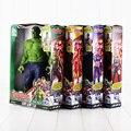 30 cm 12 pulgadas Los Vengadores Figuras Juguetes Capitán América Hulk Iron Man Thor PVC Figure Muñecas