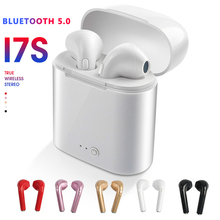 Wireless Earphones Bluetooth Earpiece i7s TWS sport Earbuds Headset With Mic For iPhone Xiaomi Samsung Huawei LG smart Phone