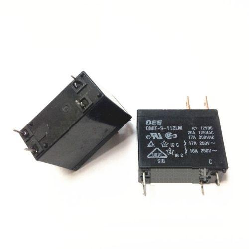 все цены на  1pcs OMIF-S-112LM 12VDC New and ORIGINAL 20A Miniature Power PC Board Relay  онлайн