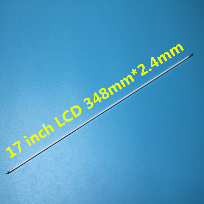 For 17 Inch LCD 348mm*2.4mm CCFL Backlight Lamps Highlight For LCD Monitor 10pcs/lot