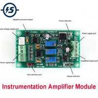 AMPLIFICADOR DE instrumentación AD620, amplificador programable de señal diferencial de alta ganancia MV, fuente de alimentación de pesaje de presión de señal