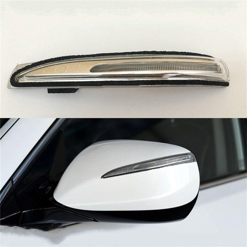 1 шт. зеркало заднего вида лампа для 2013-2017 Hyundai IX45 SANTAFE XL зеркало заднего вида поворотный сигнал светодиодный светильник боковая лампа