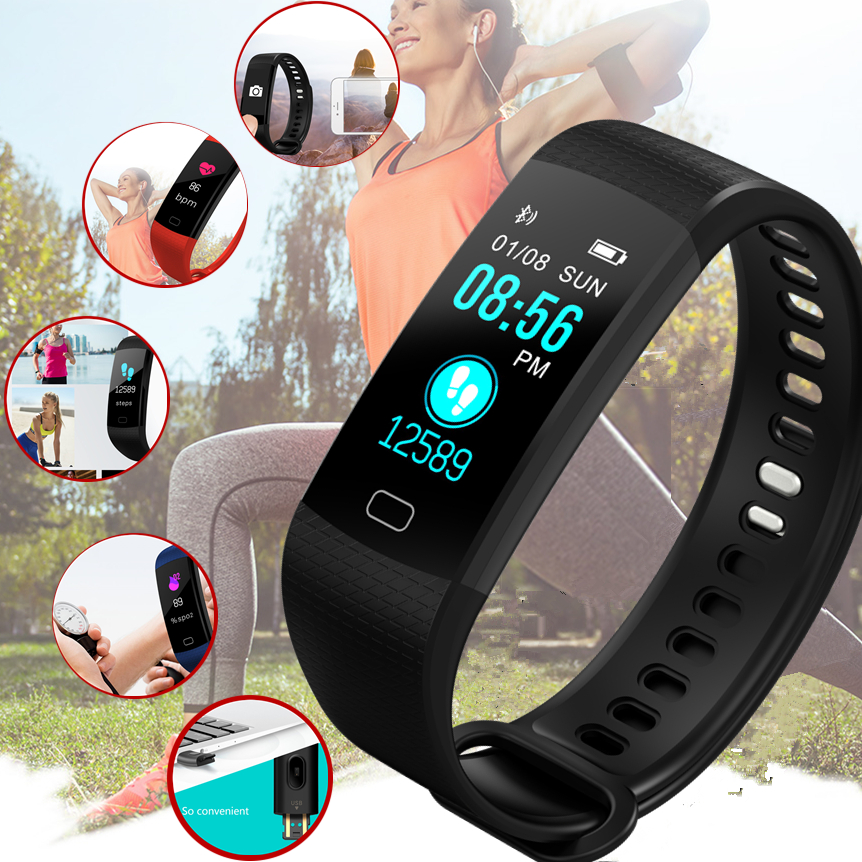 BANGWEI new smart watch men blood pressure heart rate monitor Sport fitness tracker intelligent sleep detection call reminder fitband f4 smart brace sport монитор сердечного ритма спортивный шаг heart rate sleep monitor incoming call alert rose gold