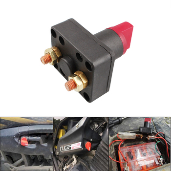 24V Car Truck Boat Camper Battery Disconnect Cut Off Power Kill Selector Switch 300A 5Seconds M6 image