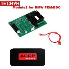 BMW FEM/BDC 지원을위한 hua Mini ACDP Module2 IMMO 키 프로그래밍, 주행 거리계 리셋, 모듈 복구, 데이터 백업