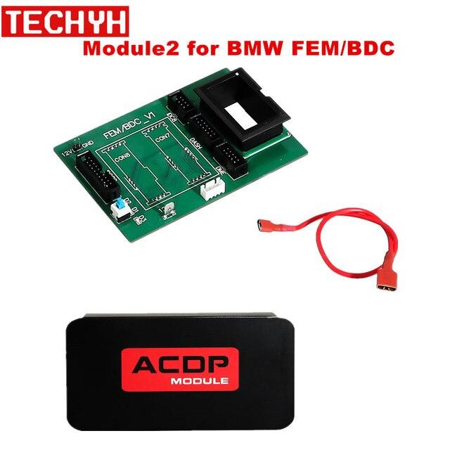Yanhua Mini ACDP Module2 สำหรับBMW FEM/BDCสนับสนุนIMMO Key,เครื่องวัดระยะทางรีเซ็ต,โมดูลRecovery,ข้อมูลสำรอง