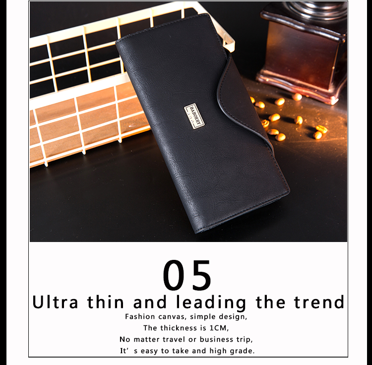 Long PU Leather Multifunction Wallet for Women