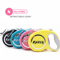 New And Elegent 5m Automatic Retractable Pet Dog Leash Extending Walking Dog Lead Adjustable Support For