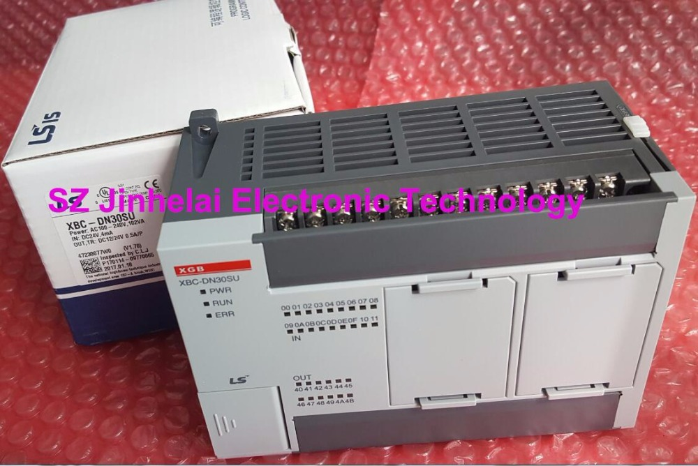100% Authentic original XBC-DN30SU LS(LG) PLC controller 100% new and original xbc dr30su ls lg plc controller