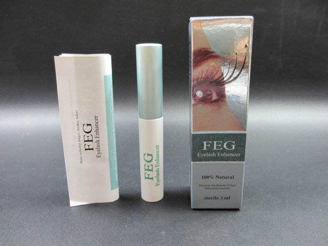 Feg Eyelash Enhancer Eyelash Serum Eyelash Growth Serum Treatment Natural Herbal Medicine Eye Lashes Mascara Lengthening Longer 5
