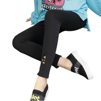 Autumn Maternity Clothes Pants Care Belly Leggings for Pregnant Plus Size Solid Hamile Giyim Warm Trousers Gestante