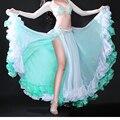 Танец живота Костюм Волны Юбка Dress с Юбка с Разрезом Рио Карнавал Болливуда