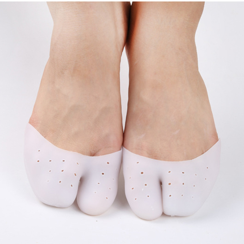 30pairs Gel Pointe Toe Cap Cover Soft Pads Protectors Pointe Ballet Professional Silicone Women Shoes Foot Care Pedicure Tools