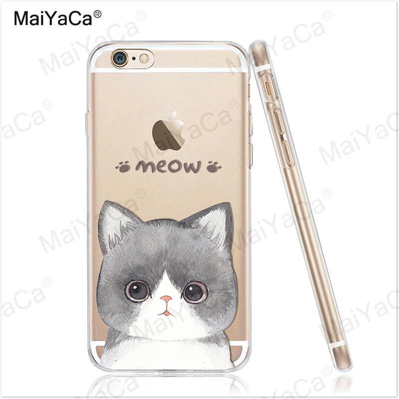 MaiYaCa telefonfodral för iPhone 4s 5s 6s 7 plus mjukt genomskinligt - Reservdelar och tillbehör för mobiltelefoner - Foto 4