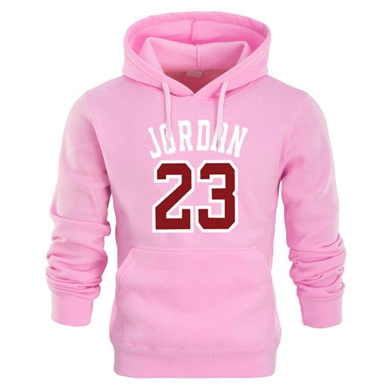 45c6e2331ff Buy RUMEIAI Autumn 2018 new women/men's casual players 23 Jordan print  hedging hooded fleece sweatshirt hoodies pullover cotton - YOUNGTIMES Store  store at ...