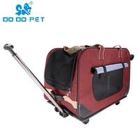 4 wheels dog car pet carrier large pet carrier pet travel dog stroller accessories best selling pet supplies