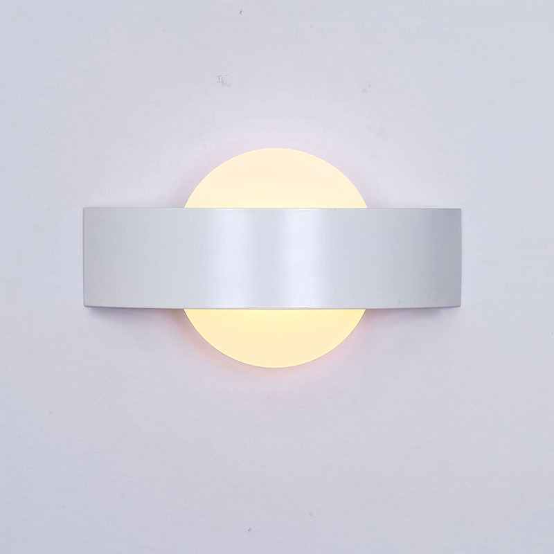 Indoor LED Wall Lamps Simple Bedroom Bedside Wall lamp Creative Lights for Dining room Hotel AC85
