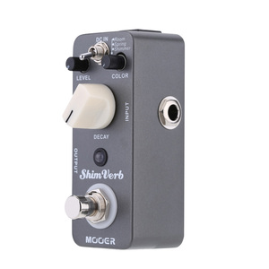 Image 4 - Mooer Shim Verb Guitar Pedal Micro Mini Digital Reverb Guitar Effect Pedal for Electric Guitar True Bypass