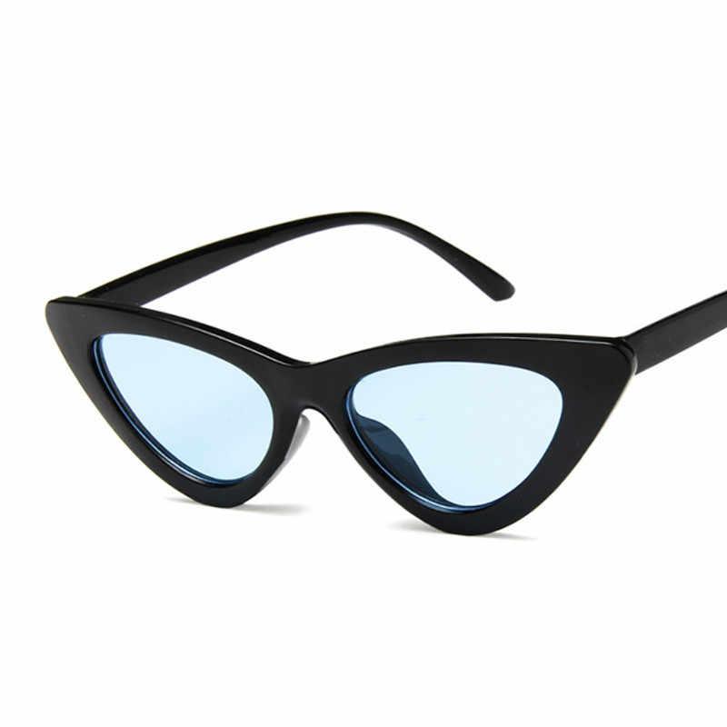 Vintage Cateye Kính Mát Sexy Retro Nhỏ Mắt Mèo Kính Chống Nắng Thương Hiệu Thiết Kế Nhiều Màu Sắc Kính Mắt Nữ Oculos De Sol