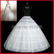 The Spot Hot sale 50% off 6 HOOP Ball Gown BONE FULL CRINOLINE PETTICOAT WEDDING SKIRT SLIP NEW