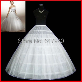 72672e3d4b94 The Spot Hot sale 50% off 6 HOOP Ball Gown BONE FULL CRINOLINE PETTICOAT  WEDDING SKIRT SLIP NEW