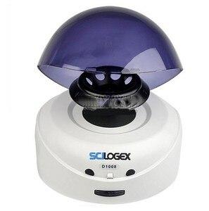 Centrifugador de laboratório de scilogex d1008e mini centrifugador de palma 5000 rpm