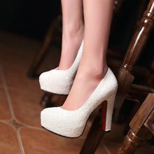 Ladies High Heels Platform Pumps Women Shoes Party Wedding B