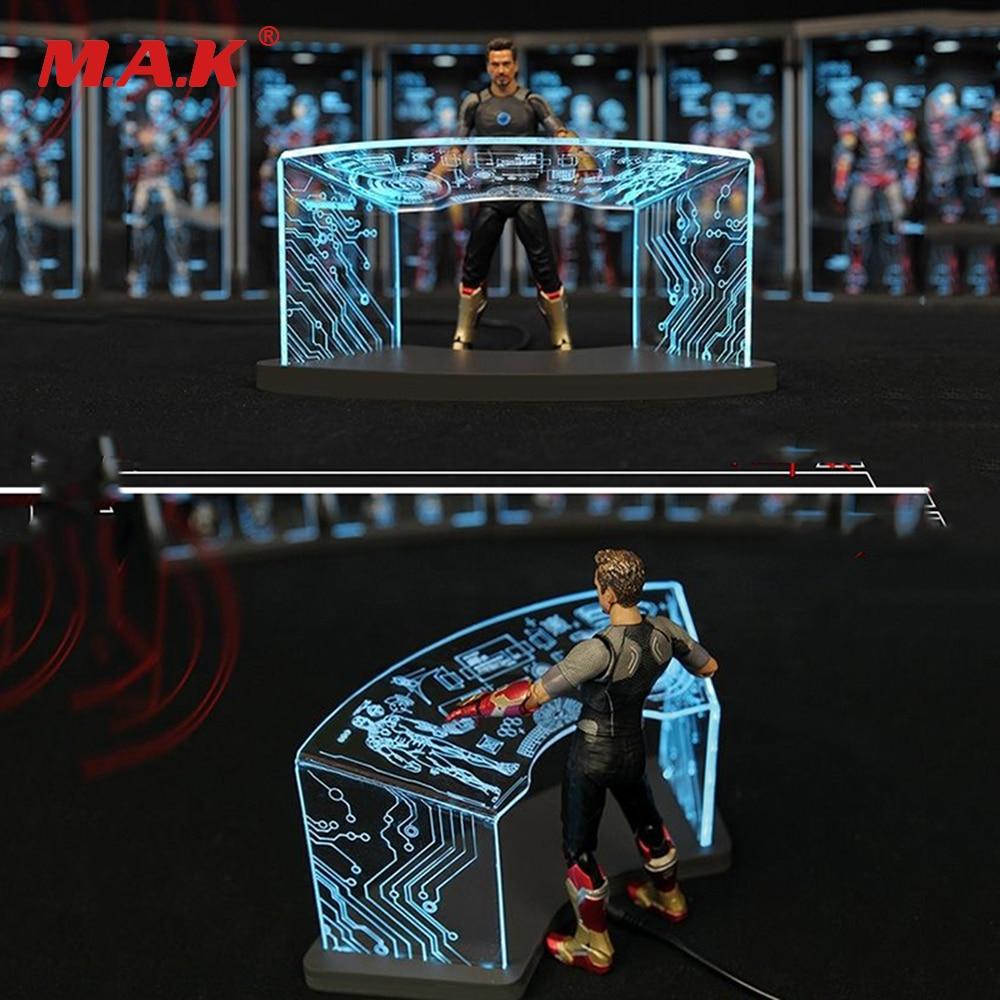 1/12comicave 6''pass type SHF Workshop Scene Test Desk for iron man Toni scene debugging table