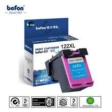 Befon compatível 122xl 122 xl substituição do cartucho para hp122 cor cartucho de tinta para deskjet 1000 1050 1050a 1510 2000 2050
