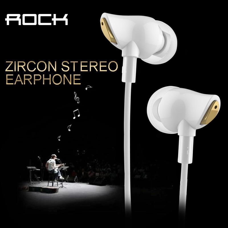 Roccia originale Zircone Stereo Auricolare In Ear Incredibile di Isolamento del Rumore In Basso Perfetto Fone De Ouvido Coinvolgente Equilibrata sem fi