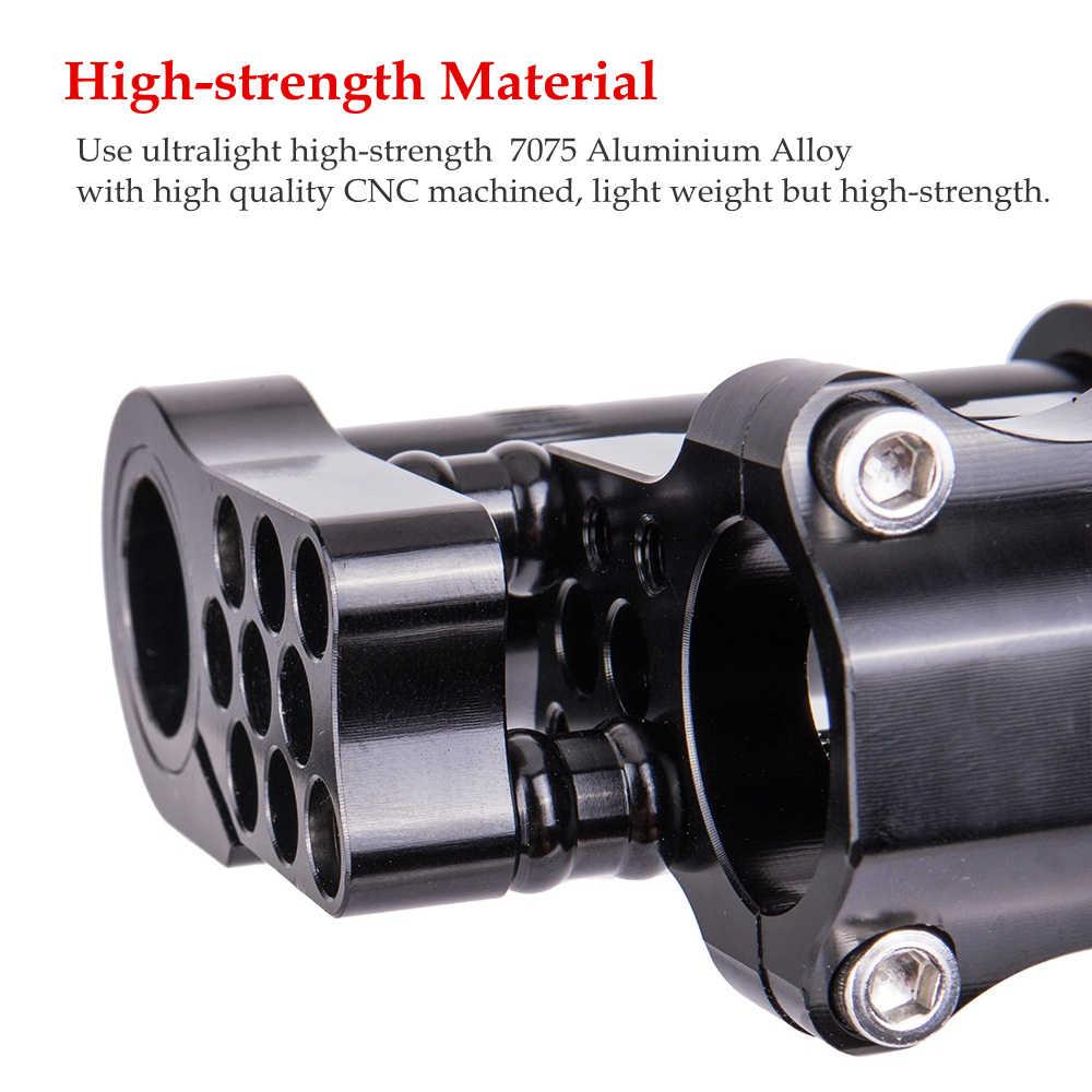 ZTTO Ultralight Yüksek Mukavemetli 7075 Alüminyum Alaşımlı CNC 25.4mm Ayarlanabilir Katlanır Bisiklet Çift Kök bağlantı Katlanır Bisiklet için