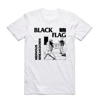 Азиатский размер унисекс печать черный флаг футболка лето o-образным вырезом с коротким рукавом, стиль панк рок-группа Генри Роллинс больши...