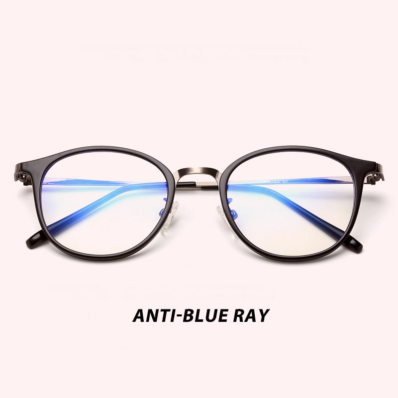 Anti Blue Ray Light Blocking Filter Reduces Digital Eye Strain Clear Regular Computer Gaming Glasses Improve Comfort 9902