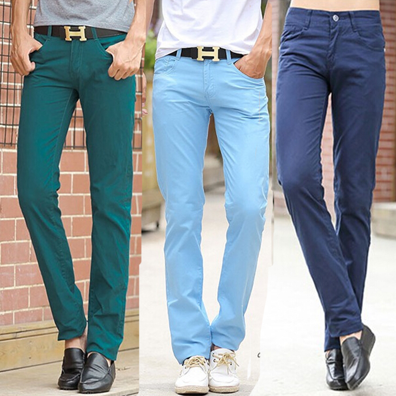 men color pants - Pi Pants