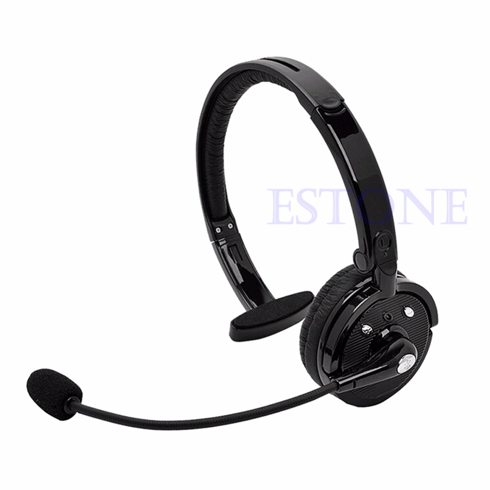 Noise-Canceling BH-M10B Bluetooth Over Head Boom Mic Headset For Trucker Drivers Drop Shipping ...
