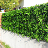 Outdoor Artificial Plant Walls Leaves Fence 1x1m UV Proof DIY Vertical Garden Wall IVY Panels Garden Backyards Decorations
