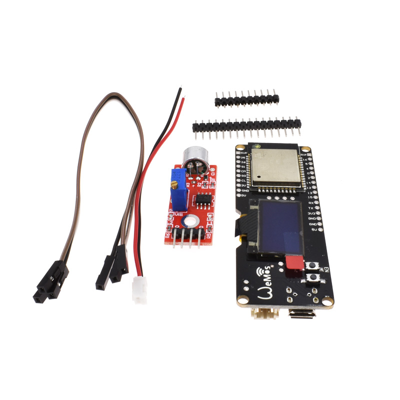 US $10 0 6% OFF TTGO ESP32 0 96 OLED Music Spectrum Analyzer Kit NEW ESP 32  development board Module-in Integrated Circuits from Electronic Components
