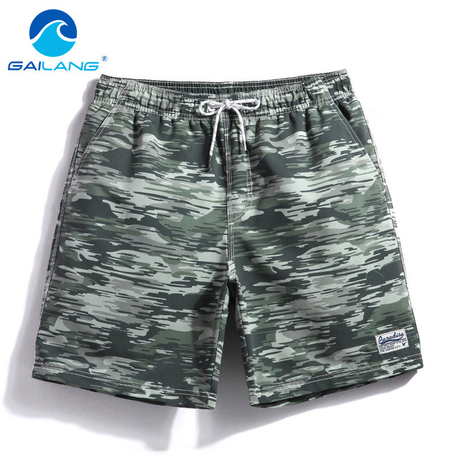 Gailang Brand Swimwear Swimsuits Boxer Trunks Bottoms Bermuda Men Beach Boardshorts Gay Sweatpants Quick Drying New
