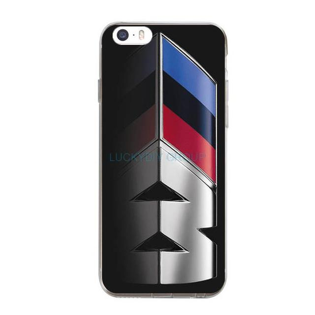BMW M series M3 M5 car Logos For IPhone 7 7 plus 6 6S Plus